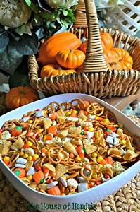 Great salty/sweet recipe for Harvest Trail Mix. Perfect ...