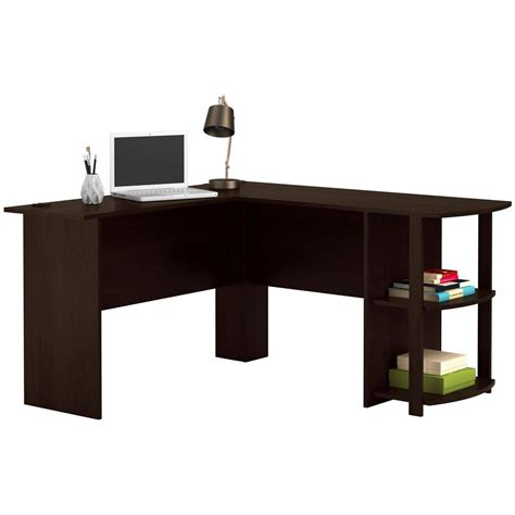 Magellan L Shaped Desk Assembly by 100 Realspace Magellan L Shaped Desk Assembly