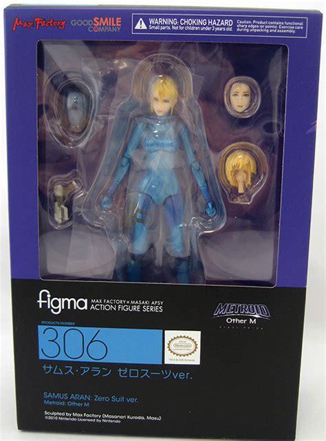 Samus Aran Zero Suit Metroid Other M Action Figure Figma