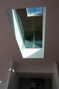 extension beton verre metal dune maison moderne With puit de lumiere maison 1 maison avec baies vitrees et puit de lumiare