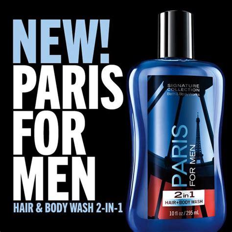 bath body works paris  men bath fragrance body