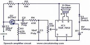 Speech Amplifier Circuit