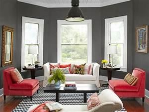 Welche Kissen Zu Rotem Sofa : wohnzimmer streichen 106 inspirierende ideen ~ Michelbontemps.com Haus und Dekorationen