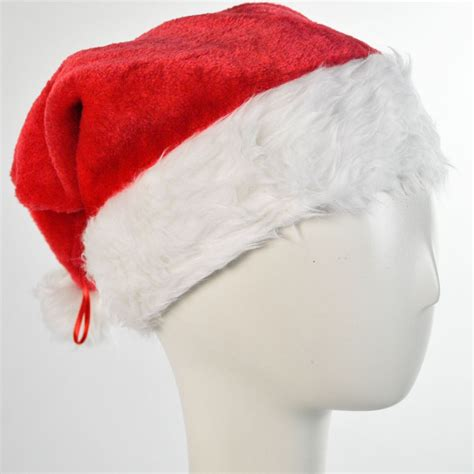 jacobson deluxe plush santa hat all