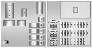 Rear Compartment Fuse Block  Cts-v Wagon
