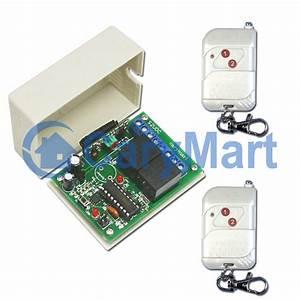 Kit emetteur recepteur electrique lampe moteur porte de for Emetteur recepteur porte garage