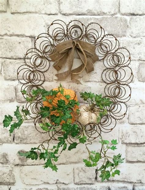 country wreaths ideas  pinterest rustic
