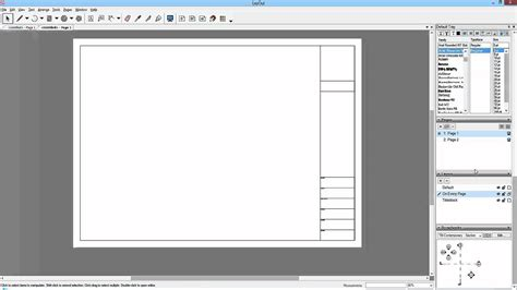 layout template sketchup to layout 15 saving the template