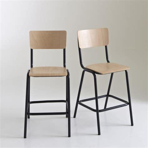 redoute chaise chaise haute style écolier mi hauteur lot de 2 autre