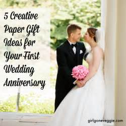 wedding anniversary gifts 5 creative paper gift ideas for your 1st wedding anniversary