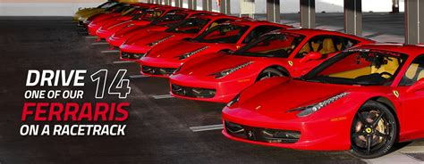 Drive a Ferrari on a racetrack in Las Vegas or Los Angeles