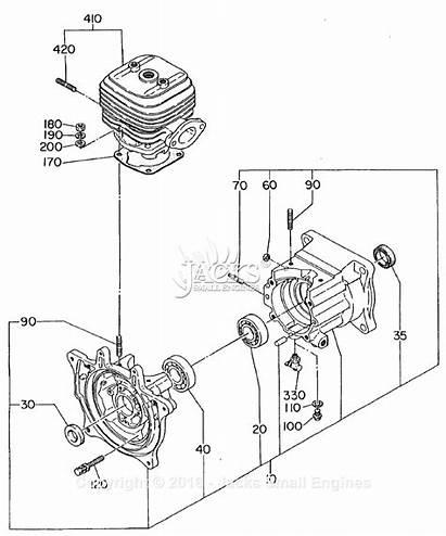 Robin Diagram Vibrator Crankcase Parts Engine Ec08