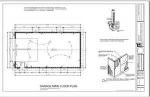 garage floor plans free g227 22 x 40 16 rv garage plan blueprints free house plan reviews