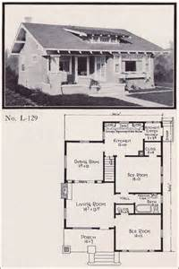 Adair Homes Floor Plans 1920 by 1920s Bungalow Home Plan No L 129 E W Stillwell Co