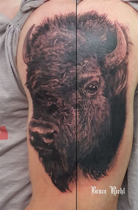 71 Best Images About Tattoos And Buffalo On Pinterest
