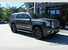GMC Yukon with 22in Fuel Maverick Wheels exclusively from