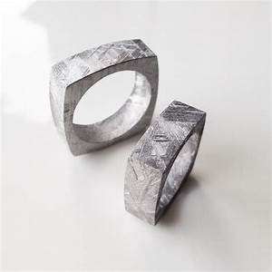 is a meteorite wedding band the ideal choice for a wedding With meteorite mens wedding ring