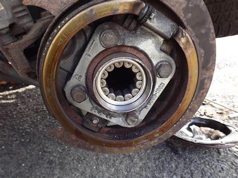 fully installed wheel bearing