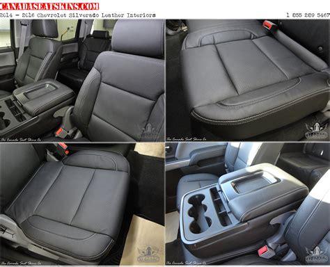 2017 Chevy Silverado Bucket Seat Covers Velcromag