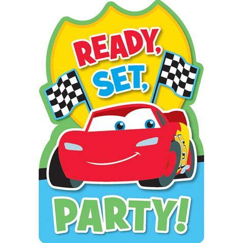 Disney Cars Party Invitations Cimvitation
