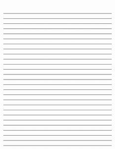 Free Printable Lined Paper | New Calendar Template Site