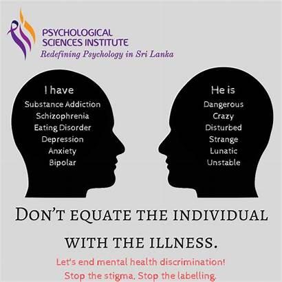 Stigma Mental Health Psychological Depression Sciences Institute