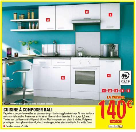 brico d駱 cuisine meuble de cuisine équipée brico depot maison et mobilier d 39 intérieur