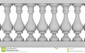 Balustrade Stock Illustration  Illustration Of Arch