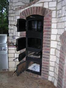 Outdoor Built in Smoker