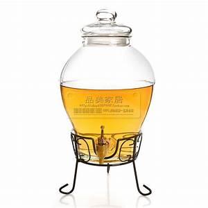 Bouteille Avec Robinet : marque d 39 exp dition 2013 fashionfree bulle de verre flacon avec robinet brass e bouteille de vin ~ Teatrodelosmanantiales.com Idées de Décoration