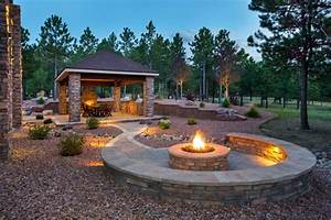 21, Great, Outside, Fire, Pits, Ideas, For, Your, Backyard, In, 2021