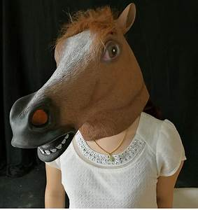 2018, new, horse, mask, scary, macka, monster, latex, masks, for, adults, halloween, all, party
