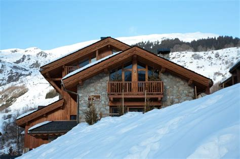 chalet floralie penthouse st martin de belleville ski apartment for self catered or catered