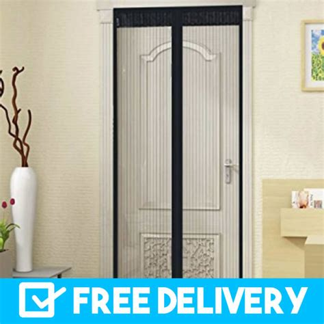 diy magnetic fly screen easy  install  delivery australia wide