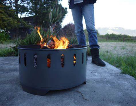 Recycled Outdoor Fire Ring