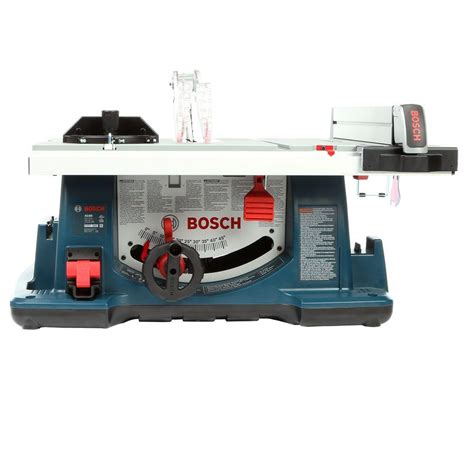 bosch 15 10 in table saw bosch 15 amp corded 10 in table saw kit with 40 tooth