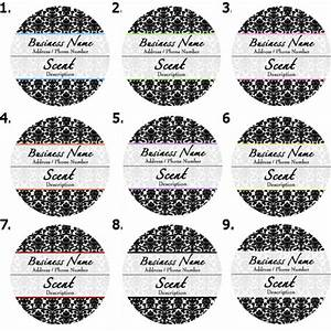 pre designed candle labels With candle label design template