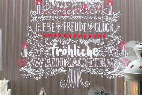 Fensterdeko Weihnachten Kreide by Diy Weihnachten Am Fenster Fensterbilder Mit