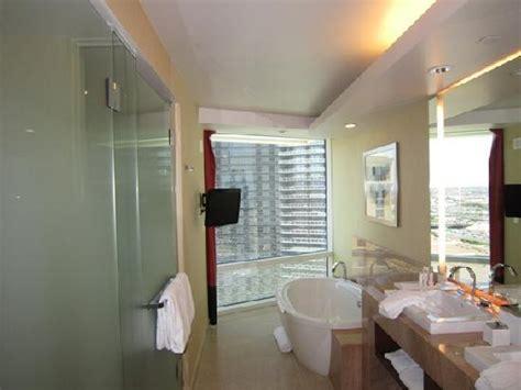 bathroom picture  aria resort casino las vegas