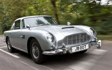 james bond s aston martin db5 driven