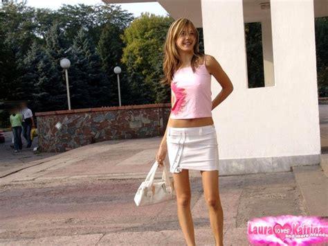 Laura Loves Katrina Lauraloveskatrina Model Creamy Skirt