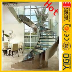 Cage Escalier Moderne by Ronde Cage D Escalier Moderne En Acier Inoxydable