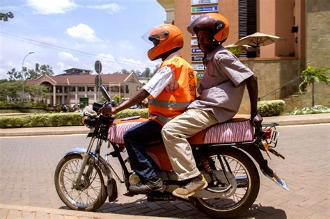 "Uganda's ""uber For Motorcycles"" Focuses On Safety"