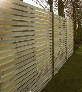 Panneau De Cloture En Bois : panneau pare vue cloture brise vue idmaison ~ Premium-room.com Idées de Décoration