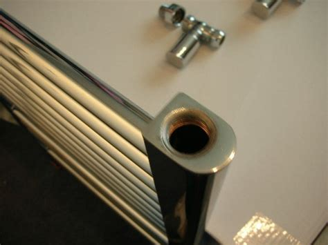 install  towel radiator central heating