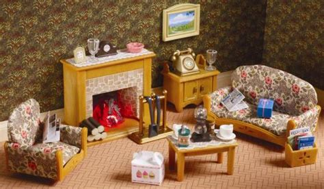 Sylvanian Families Kitchen And Living Room Collection : Country Living Room Set By Sylvanian Families