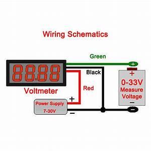 Basic Electrical Wiring Diagram Voltmeter