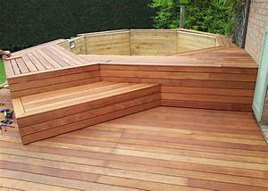 terrasse bois merbau wrastecom With specialiste parquet
