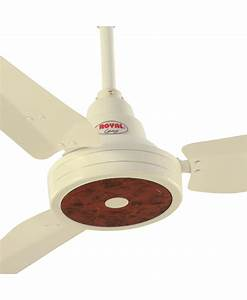 Royal Ceiling Fan - RL-050 Home Appliances