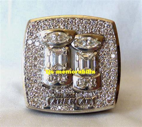 san jose sabercats arena bowl championship ring